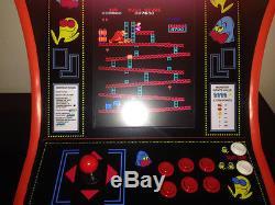 PAC MAN MINI bartop ARCADE game machine cabinet multigame PCB Donkey Kong Ms