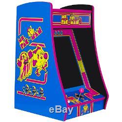 PINK Ms PacMan Bartop Arcade Machine, Multicade with60 Games