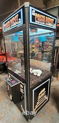 PRIZE DEPOT Claw Crane Prize Redemption Full Size Arcade Machine WORKING! #18