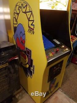 Pacman Pac Man Multi-game Arcade Game Machine Multigame Multi Coin Op