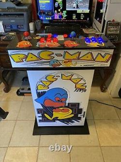 Pedestal Arcade Machine with 10,000 Games Retro Pi Choose Graphics Full Sized NEW