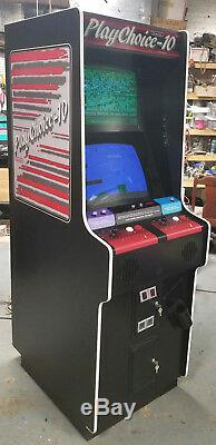 Playchoice 10 NINTENDO Dual Monitor Arcade Video Game Machine Classic! 10 GAMES
