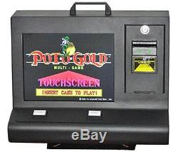 Pot of Gold Machine with Metal Cabinet bill acceptor and 5.10 or 5.80 board