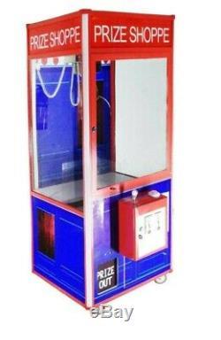 Prize Shoppe 33 Redemption Prize Crane Claw Machine Arcade Machine with DBA