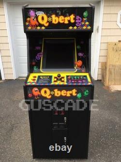 QBert Arcade Machine Brand NEW Game QBert @! #@! MINT Full Size Guscade