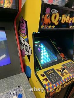 QBert Arcade Machine Original Game QBert @! #@! Full Size