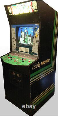 RAMPAGE ARCADE MACHINE by BALLY/MIDWAY 1986 (Excellent Condition) RARE