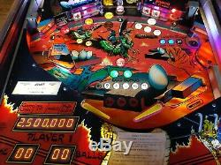 RARE 1983 Williams JOUST pinball machine fully shopped working FREE SHIPPING