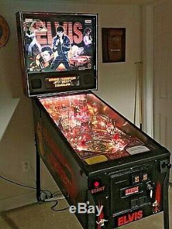 RARE Elvis Presley Pinball Machine