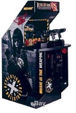 REVOLUTION X ARCADE Shotting MACHINE (Excellent Condition)