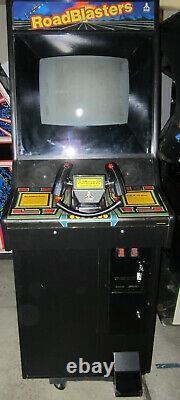 ROADBLASTERS ARCADE MACHINE by ATARI 1987 (Excellent Condition)