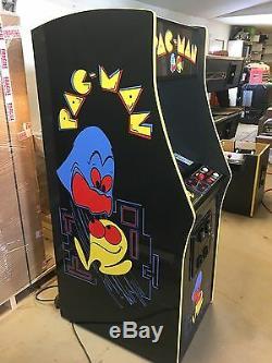 Restored Black PacMan Arcade Machine, Upgraded