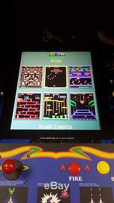 Restored Galaga Arcade Machine, Upgraded To Play 412 GAMES
