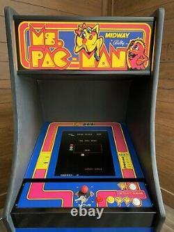 Restored Ms. PacMan Arcade Machine, Upgraded