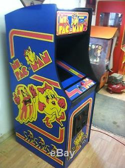 Restored Ms. PacMan Arcade Machine, Upgraded To Play 412 Games