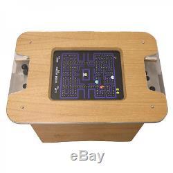 Retro Arcade Machine Oak Coffee Table 60 classic arcade games