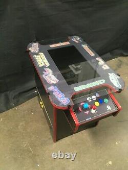 Retro Cocktail Arcade Machine With Large 21 Monitor and 60 Classic Games GLASS