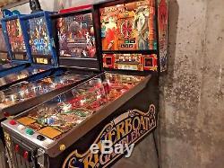 Riverboat Gambler Pinball Machine Coin Op Arcade Game