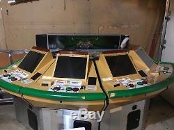 SEGA Derby Owner's Club Arcade Machine Works Display Needed Cards Included