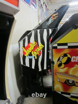 SEGA JAMBO SAFARI ARCADE MACHINE (Excellent Condition) RARE withLCD UPGRADE