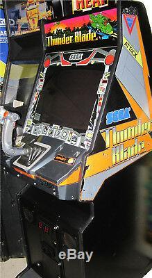 SEGA THUNDER BLADE ARCADE MACHINE (Excellent Condition) RARE