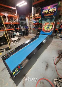 SKEEBALL LIGHTNING Full Size Alley Roller Arcade Game Machine WORKING