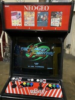 SNK Neo Geo 4 Slot Puzzle Bubble Metal Slug KOF Arcade Video Game Machine