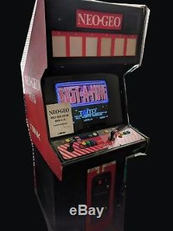 SNK Neo-Geo 6-Slot MVS Arcade Machine 2-Player Jamma PCB US Cabinet VideoGameX