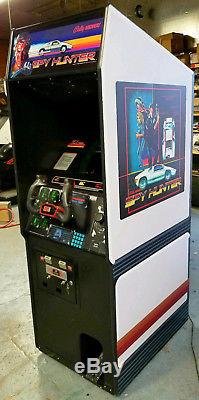 SPY HUNTER Arcade Classic Cabinet Arcade Game Machine! LOTS of new parts