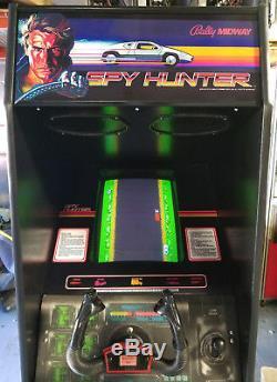 SPY HUNTER Arcade Classic Cabinet Arcade Game Machine! LOTS of new parts (Spy#2)