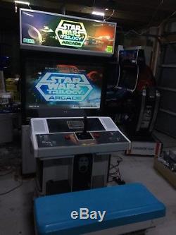 STAR WARS Trilogy sitdown arcade machine, recent refurb offers accepted