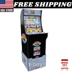STREET FIGHTER 2 Arcade1up Retro Video Game Machine 17 LCD 3in1 Arcade with Riser