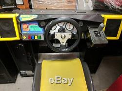 Sega Daytona USA arcade machine deluxe motion two units available arcade game