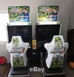 Sega Initial D Stage 3 Arcade Machine 2-Seat Game Excellent Condition