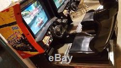 Sega Super GT Arcade Machine Two (2) Units