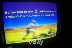 Sega VIRTUA FIGHTER FIGHTING Video Arcade Game Machine Working