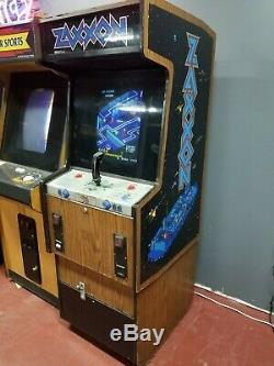 Sega Zaxxon Arcade Machine Game Plays GREAT