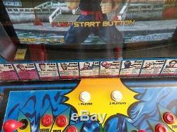 Sega's Virtua Fighter 2 Arcade cabinet machine