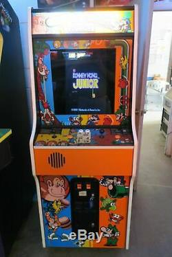 Sharp Dedicated Nintendo Donkey Kong/ DK Jr / Mario Brothers Combo Arcade Game