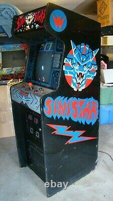 Sinistar arcade machine