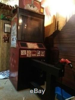 Six Gun select global vr arcade machine fast draw, mad dog 1,2, last bounty