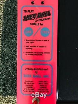 Skee Ball Machine with Balls Arcade Game Skeeball