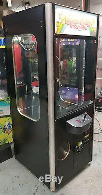 Smart BEAN BAG Crane / Claw Stuffed Animal Prize Arcade Machine! Redemption