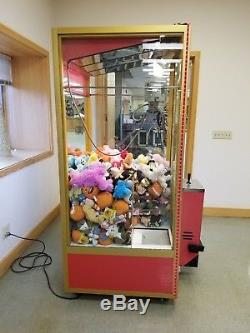 Smart Industries Classic Crane Claw Amusement Machine with 288 Toy Prizes