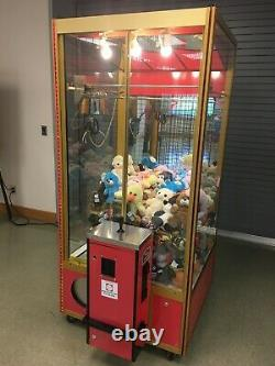 Smart Industries Classic Crane Claw machine loaded with prizes