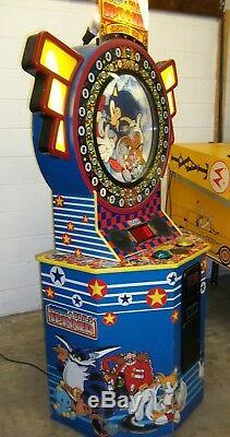 Sonic And Tails Spinner By Sega Ticket Redemption Arcade Game Machine