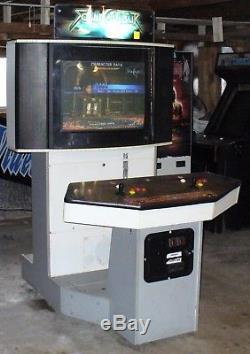 Soul Calibur II arcade machine showcase cabinet