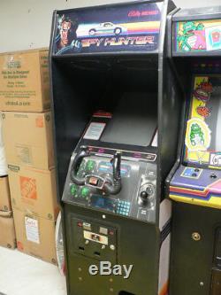 Spy Hunter upright arcade machine