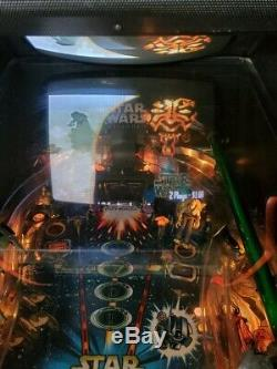 Star Wars Episode 1 EP1 Pinball Machine Video Arcade Game
