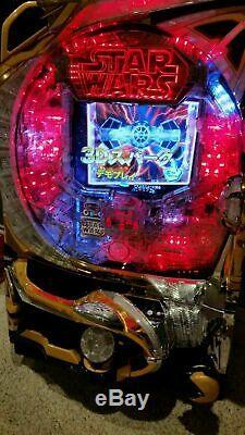 Star Wars Pachinko Machine BATTLE OF VADER Japanese Slot Arcade Game 2119 NYCC